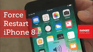 How to Force Restart the iPhone 8 & iPhone 8 Plus