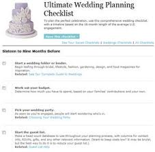 Real Simple Wedding Checklist Allowed Printable Planning Checklists S Ultimate