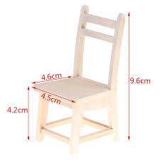 neue 1x1 12 holz kleine stuhl puppenhaus miniaturen möbel modell esszimmer spielzeug für baby kinder