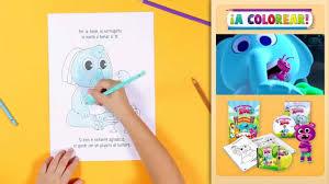 A Colorear Los Dibujos De Las Canciones Del Zoo El Reino Infantil