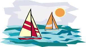 Holiday Sailboat Sunset Boating Sailing Vacation