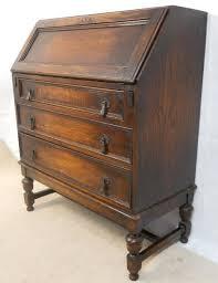 oak writing bureau uk jacobean style oak writing desk bureau 174778 sellingantiques