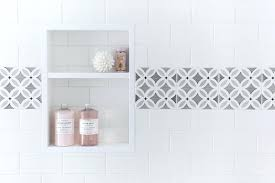 tile border bathroom mirror sportactualite info