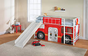100 Fire Truck Loft Bed UPC 029986356215 Essential Home Slumber N Slide Curtain