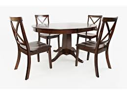 Jofran Everyday Classics Round To Oval Dining Table And 4 ... Realyn Ding Room Extension Table Ashley Fniture Homestore Gs Classic Oak Oval Pedestal With 21 Belmar New Pine Round Set Leaf 7piece And 6 Chairs Evelyn To Wonderful Piece Drop White Mahogany Heart Shield Back Details About 7pc Oval Dinette Ding Set Table W Extendable American Drew Cherry Grove 45th 7 Traditional 30 Pretty Farmhouse Black Design Ideas Kitchen