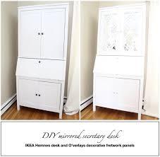 Ikea Hemnes Desk White by Best 25 Ikea Secretary Desk Ideas On Pinterest Small Sewing