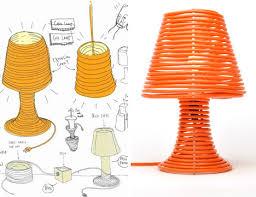 Coiled Custom Made Lamp