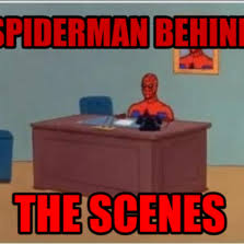 Spiderman Behind Desk Meme by Desk Spiderman Hilarious Pictures With Captions