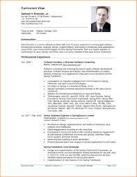 Sample Resume For Dot Net Developer Experience 2 Years Inspirationa