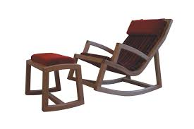 Rocking Chair & Footstool | Studio Hip Vermont Porch Rocker Gastonville Classic Rocking Chair Allweather Outdoor Polywood Jefferson Plowhearth South Beach Sbr16 Wine Barrel Free Shipping Ecr16wh White Long Island The Complete Guide To Buying A Blog Poly Bent Back Green Projects Salvations Auction Fniture Art Made Endless Rocking Chair