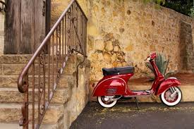 Beautiful Pictures Wallpaper Possibly With A Moped And Motor Scooter Entitled Vintage Vespa