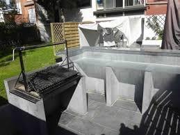 construire une cuisine d été cuisines d été contemporaines barbecues argentins