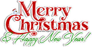 Merry Christmas And Happy New Year 2017 Clipart Gif 7