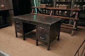 bureau metal bois bureau design bois bureau industriel metal mactal strafor design