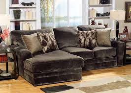 Chocolate Corduroy Sectional Sofa by Remarkable Deep Sectional Sofa Pictures Inspirations Decor