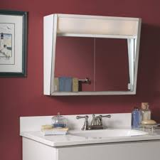 Broan Nutone Mirrored Medicine Cabinets by Amazon Com Jensen Medicine Cabinet Flair 28w X 19 5h In Surface