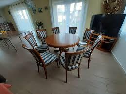 esszimmer mit 6 stühle selva louis philippe kirschbaum antik
