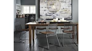 Crate And Barrel Canada Floor Lamps by Tig Metal Dining Chair Crate And Barrel