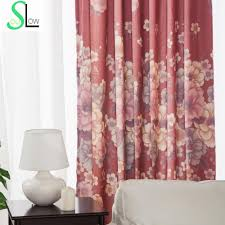 Red Curtains Living Room Ideas by Red Floral Curtains Promotion Shop For Promotional Red Floral