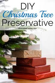 Christmas Tree Books Diy by How To Make Your Own Christmas Tree Preservative Safe U0026 Non Toxic