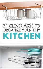 Small Kitchen Organizing Ideas 31 Incredibly Clever Ways To Organize Your Tiny Kitchen
