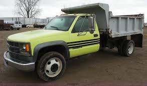 100 Pickup Truck Dump Bed 2000 Chevrolet 3500 Dump Bed Pickup Truck Item J4618 SOL