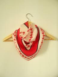 vintage silk scarf by italian design house basile by nostalgicrose