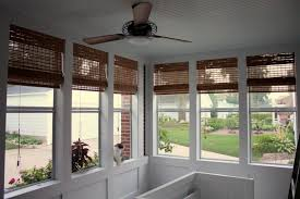 Outdoor Bamboo Shades For Screened Porch Bamboo Blinds For Porch