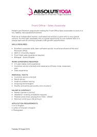 Front Desk Job Salary by Front Desk Job Description Cvresume Unicloud Pl