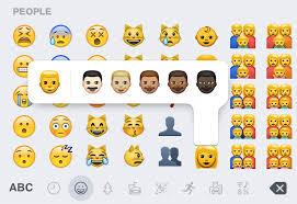 Lose the Cartoon Yellow People Emoji How to Access Diverse Emoji