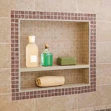installing a preformed shower niche to tile d oh i y