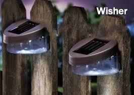 best outdoor garden decoration solar fence light solar wall light