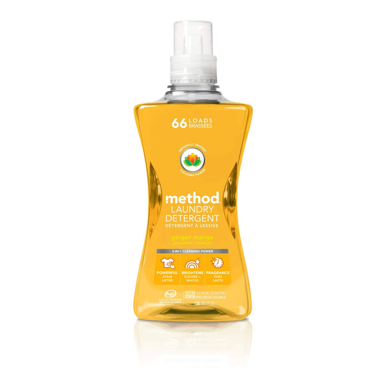 Method Laundry Detergent - Ginger Mango, 53.5oz