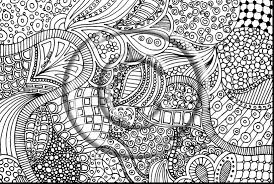 Excellent Abstract Zentangle Coloring Pages With Printable