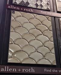 my favorite tile allen roth at lowe s kitchen