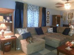 Taupe Sofa Living Room Ideas by Taupe And Blue Living Room Militariart Com