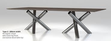 100 Minotti Dining Table Van Dyck Dining Table