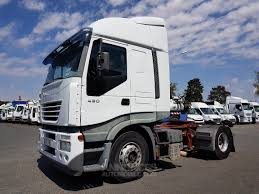 100 Iveco Truck Tractor Truck Stralis AS 430 ZF16 INTARDER Blanc Occasion