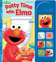 amazon com potty time with elmo liittle sound book phoenix