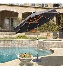 gatech 9 foot wood rotational tilt umbrella frame only