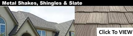 all types styles and colors of metal roofing products