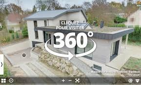 visite virtuelle maison moderne nos visites virtuelles à 360 de maison témoin et de modèle 3d