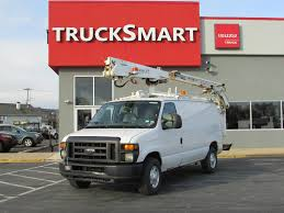2008 FORD E350 BUCKET VAN SERVICE - UTILITY TRUCK FOR SALE #11180