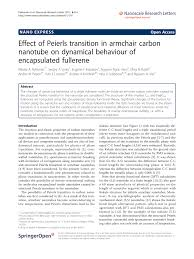 Effect Of Peierls Transition In Armchair Carbon Nanotube On ... Iab Initioi Study Of The Electronic And Vibrational Properties Slide Show Graphitic Pyridinic Nitrogen In Carbon Nanotubes Energetic Technologies Free Fulltext Refined 2d Exact 3d Shell Int Publications Mechanical Electrical Single Walled Carbon Patent Wo2008048227a2 Synthetic Google Patents Mechanics Atoms Fullerenes Singwalled Insights Into Nanotube Graphene Formation Mechanisms Asymmetric Excitation Profiles Resonance Raman Response