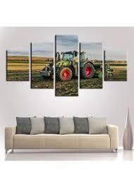 gwgdjk traktor ackerland wand kunst leinwand kunst