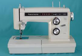 Vintage Kenmore Sewing Machine In Cabinet by The Shocking Truth About My Sewing Machine Obsession