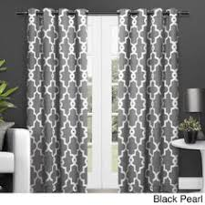 Moroccan Tile Curtain Panels by Aurora Home Moroccan Tile Room Darkening Curtain Panel Pair