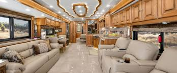 Tiffin Motorhome Allegro Bus Living Area