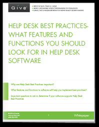 Best Help Desk Software Gartner by Help Desk Best Practices Features U0026 Functions In Help Desk