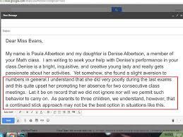 mail absence maladie bureau comment écrire une lettre à l enseignant de votre enfant